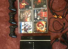 playstation3 with all accessories and games