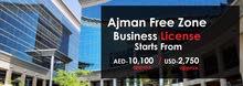 Ajman Freezone Business License Registration
