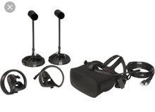نظام الواقع الافتراضي اوكولس رفت، Oculus Rift VR system