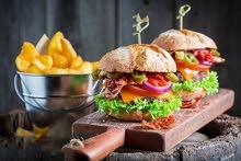 مطلوب شيف وجبات سريعة و وجبات صحية