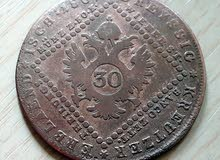 النمسا 30 كروزر 1807