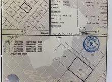 العامرات مدينة النهضة  مربع 7/1  ارض سكنيه رقم الارض 1081   مساحة الأرض 645 متر