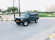 Jeep Cherokee 1996 For sale - Green color
