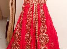 designer indo western dress with 5 pieces