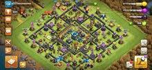 clach of clans القرية 13