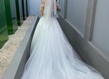 beautiful customized wedding dress from abroad