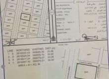 للبيع ارض سكنية في المصنعة جنوب المرحلة الثانية رقم 2946 بالقرب من وادي فر .