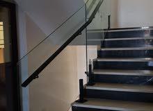 الامل لزجاج والالمنيوم وجميع انواع الشورات والمرايات وزجاج الدرج
