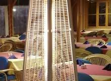 دفايات مطاعم ومقاهي غاز استانلس