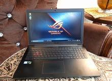 Asus Rog i7 6th Gen 8GB RAM 1TB Nvidia GTX Gaming Laptop