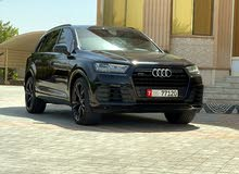 audi q7 carbon edition with warranty and service contract