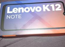 جوال Lenovo k12 note