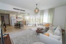 شقة غرفة وصالة مع تراس وحديقة خاصة فى الغدير
