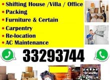 House villa flat packing moving shifting all bahrain delivery transport availabl