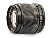 Canon lens FD 85mm F 1:8