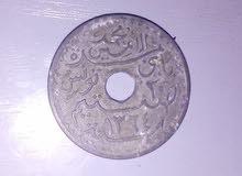 عملة تونسية نادرة 20 فرنك تونسي 1945 (تحت الحماية الفرنسية)