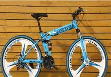 Folding mountain bikes 26 inch 21 speedدراجة جبلية قابلة للطي مقاس 26 بوصة و 21