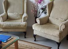 Corner Chairs for living room (Luxury) كرسي انتريه فخم