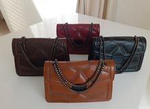 ladies leather bags/شنط نسائية نوعية ممتازة و ستايلات جديدة