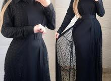 سيت فستان مع بشت تركي   متكون من 3 قطع  متوفر بالالوان المعروضة   نوع القم