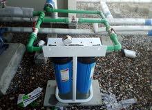 فلاتر لتنقية المياه للشرب او فلاتر لتصفية المياه من الرواسب على المنزل كاملا