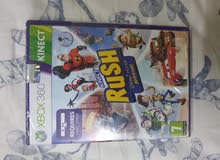 1 Xbox CD 360 game kinect sports   2 kinect rush