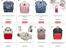 Diaper Bags with Cash On Delivery
