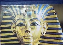 مجموعة قيمة من طوابع البريد المصرية في ألبوم طوابع فاخر
