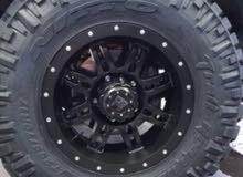 رنقات Allied Wheels  استرالي 5 براغي  مقاس 17