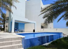 Spacious 3 Bedrooms Semi Furnished Villa With Compound shared Pool and Direct Beach Access