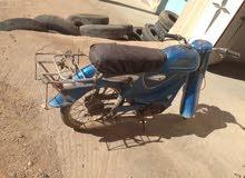دراجة نارية قديمة وناذرة