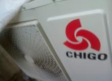مكيف شيكو 2 طن للبيع بحالة الوكاله