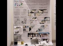 مصممة داخلي +جرافيك ديزاين