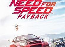 مطلوب nfs payback مستعمل او جديد للبيع PS4