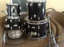 Power Beat Drums خشب قديم بحالة الجديد استعمال منزلى