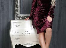 فستان قطيفه