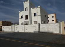 مبنى للبيع جنب كلية تقنية بنزوى مساحة البناء 260م مساحة الارض 600م