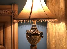 A couple of table lamp.
