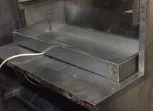 مكينة شاورما عل الفحم للبيع