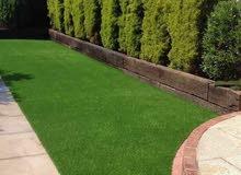 ترتان اخضر صناعي للمزارع والحدائق والحضانات والملاعب