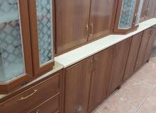 للبيع جميع انواع المطابخ المستعملة شامل التركيب والتوصيل