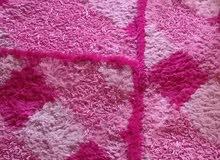 فرش شاقي  2.5×105 وفرشة دار نوم مع 2 قطع وفرشة بيضوية