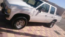 White Nissan Pickup 1996 for sale