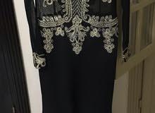 فستان سهرةجديد لوزن 65ك من القماش السورى
