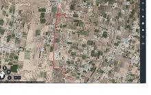 ارض 7235م للبيع في بداية طريق المشتل بعد المسجد