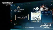 حساب battle.net فيه لعبة overwatch للبيع او تبديل باي لعبة عالPS4