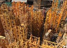 Tower Cranes and Mobile Cranes - Leibherr, Potain, Kobelco, Tadano ETC