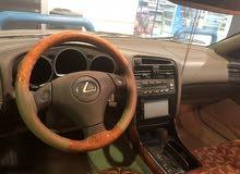 لكزس GS للبيع او البدل مع سياره اخرى