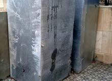 خزانات ماء عدد 2 سعة الواحد 2 متر مكعب مواصفات خاصه بسعر محروق