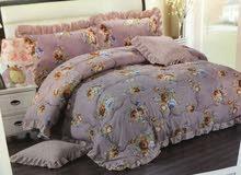 مفارش كنج لتجعل سريرك بمنظر جميل وملكي